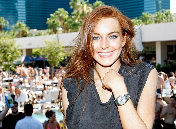 Lindsay Lohan「Lindsay Lohan Celebrates Her Birthday At Wet Republic At MGM Grand」:写真・画像(12)[壁紙.com]