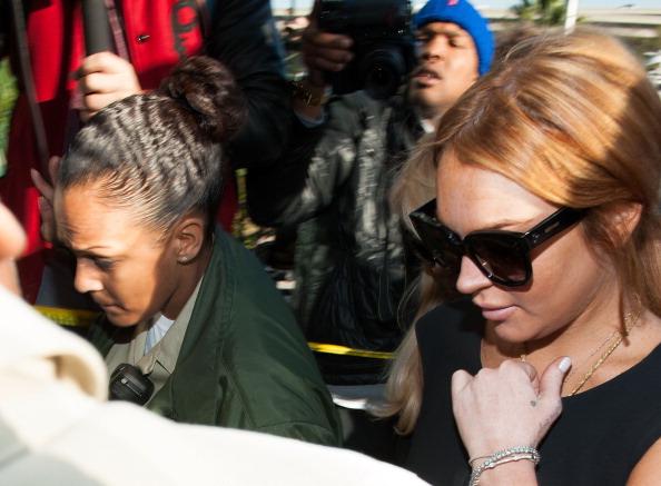 Branch - Plant Part「Lindsay Lohan Court Appearance」:写真・画像(3)[壁紙.com]
