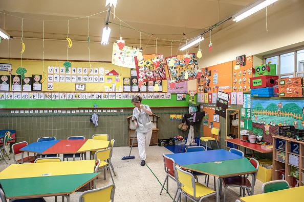 Classroom「Barcelona Impacted By Coronavirus」:写真・画像(1)[壁紙.com]