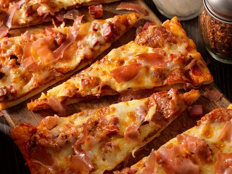 Flatbread「Meat lovers, Flat Bread Pizza」:スマホ壁紙(10)
