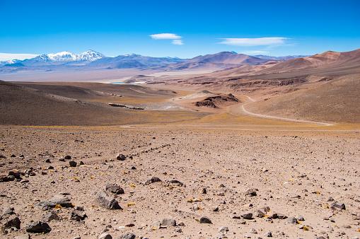 Volcanic Landscape「Altiplano near Copiapo, Chile」:スマホ壁紙(6)