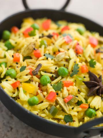 Basmati Rice「Vegetable Pilau Rice in a Balti Dish」:スマホ壁紙(16)