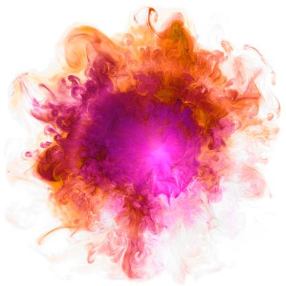 Sensory Perception「Color Smoke Liquids」:スマホ壁紙(1)