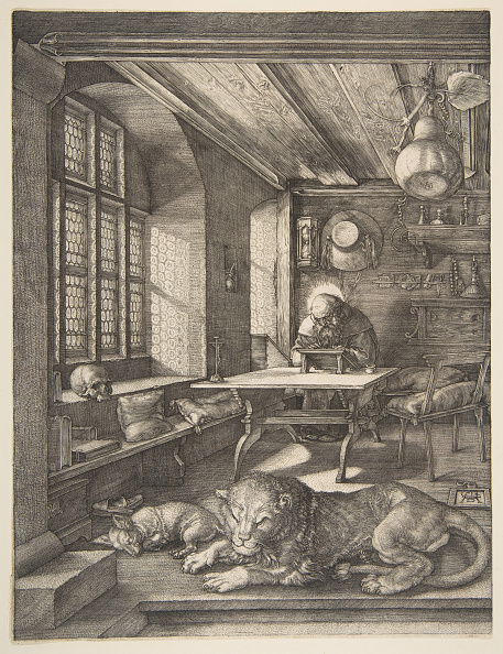 Gourd「Saint Jerome In His Study」:写真・画像(17)[壁紙.com]