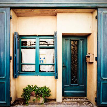 French Lavender「Provence house entrance」:スマホ壁紙(12)