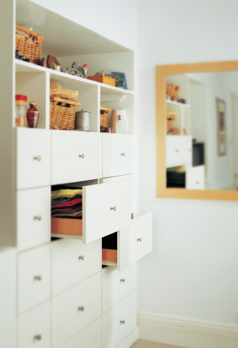 鏡開き「Chest of Drawers in a Bedroom」:スマホ壁紙(7)
