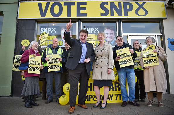 Candidate「SNP Candidate Tommy Sheppard Campaigns In Portobello」:写真・画像(19)[壁紙.com]