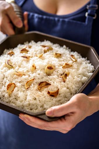 Garlic Clove「Roasted Garlic over Steamed Rice」:スマホ壁紙(13)