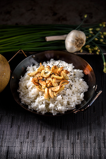 Garlic Clove「Roasted Garlic over Steamed Rice」:スマホ壁紙(6)