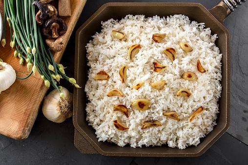 Garlic Clove「Roasted Garlic over Steamed Rice」:スマホ壁紙(14)