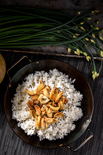 Garlic Clove「Roasted Garlic over Steamed Rice」:スマホ壁紙(7)