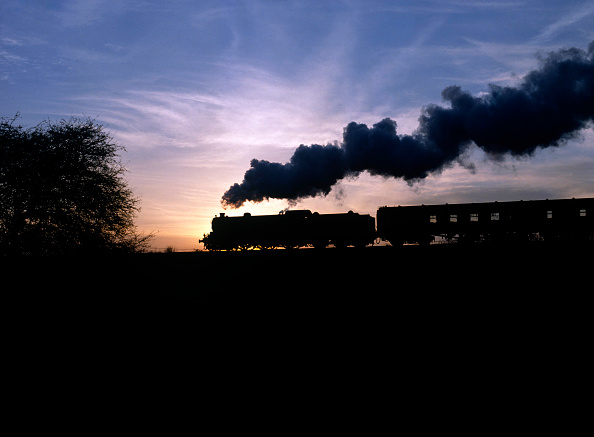 Dawn「Great Central Railway. No.1306 Mayflower approaches Quorn with the 15:40 ex Loghborough for Rothley. 13.11.1988.」:写真・画像(18)[壁紙.com]