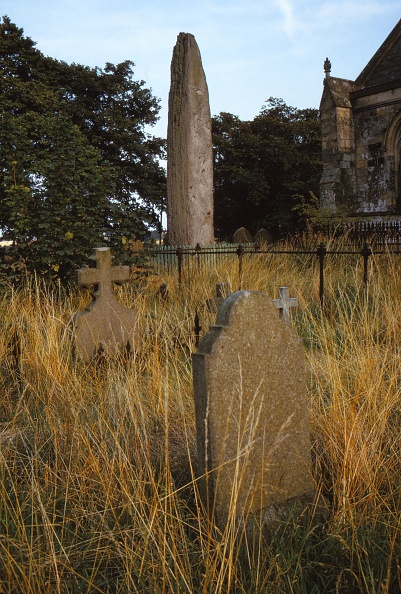 Clipping Path「Prehistoric Monolith In Churchyard Of Rudston」:写真・画像(12)[壁紙.com]