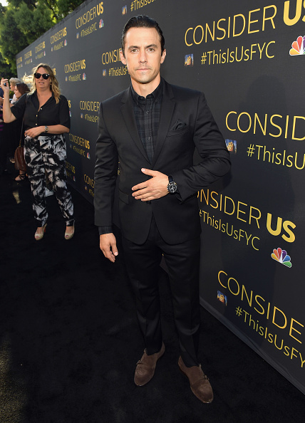 Tartan check「FYC Panel Event For 20th Century Fox And NBC's 'This Is Us' - Red Carpet」:写真・画像(14)[壁紙.com]