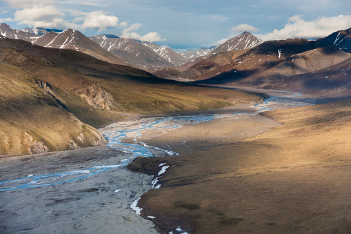 Arctic National Wildlife Refuge「Aerial of the Kongakut River」:スマホ壁紙(8)
