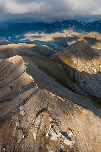 Arctic National Wildlife Refuge「Aerial of the Davidson mountains」:スマホ壁紙(7)