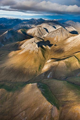 Arctic National Wildlife Refuge「Aerial of the Davidson mountains」:スマホ壁紙(4)