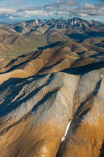 Arctic National Wildlife Refuge「Aerial of the Brooks Range」:スマホ壁紙(9)
