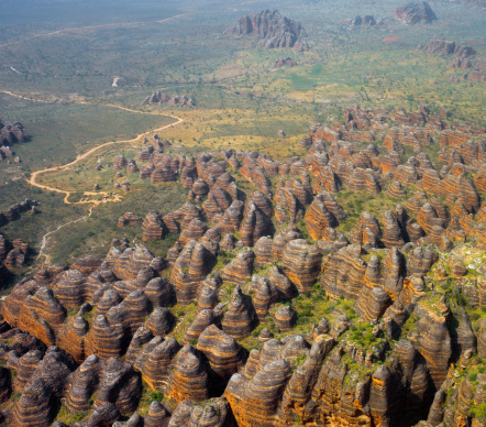 Kimberley「Aerial of the Bungle Bungles.」:スマホ壁紙(12)