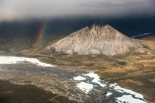 Arctic National Wildlife Refuge「Aerial of the Chandalar river」:スマホ壁紙(18)