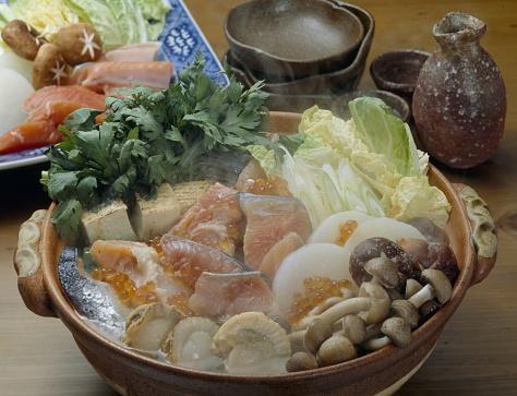 Sake「Ishikari nabe (Hot pot)」:スマホ壁紙(13)