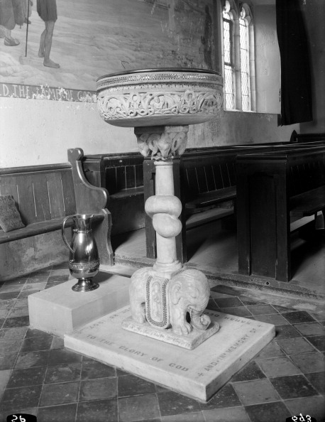 Pitcher - Jug「Font in the church of St John the Baptist, Lea, Herefordshire. Artist: S Pitcher」:写真・画像(18)[壁紙.com]