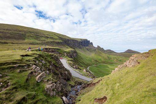 Landslide「Quiraing landslip on the Isle of Skye, Inner Hebrides, Scotland」:スマホ壁紙(14)