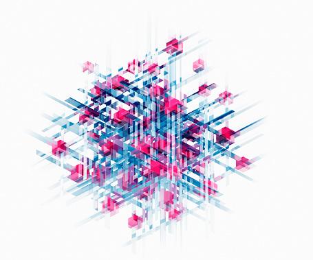結晶「Complex crystalline structure」:スマホ壁紙(10)