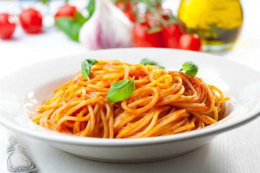 Tomato Sauce「Spaghetti, tomato and basil」:スマホ壁紙(5)