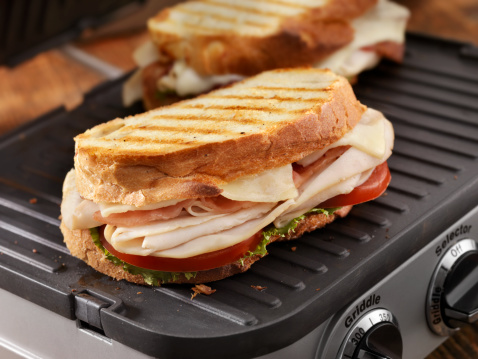 Griddle「Turkey Club Panini」:スマホ壁紙(9)