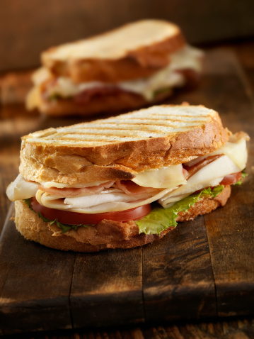 Sandwich「Turkey Club Panini」:スマホ壁紙(9)