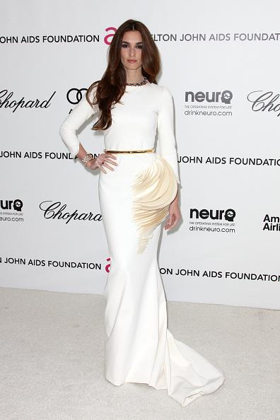 Fan Shape「20th Annual Elton John AIDS Foundation's Oscar Viewing Party - Arrivals」:写真・画像(6)[壁紙.com]