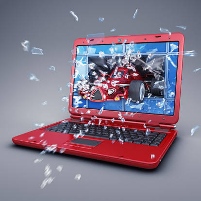 Hot Rod Car「3d laptop」:スマホ壁紙(16)
