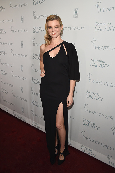 エイミー スマート「The Art Of Elysium And Samsung Galaxy Present Marina Abramovic's HEAVEN - Red Carpet」:写真・画像(4)[壁紙.com]