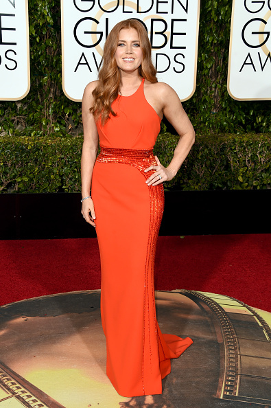 Orange Dress「73rd Annual Golden Globe Awards - Arrivals」:写真・画像(12)[壁紙.com]