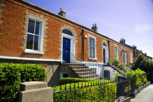 Dublin - Republic of Ireland「Houses」:スマホ壁紙(13)