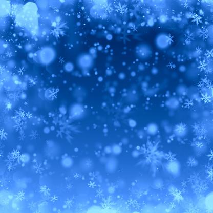 雪の結晶「冬の氷の背景」:スマホ壁紙(14)