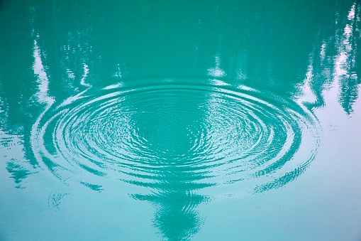 Water Surface「Circular Ripples on  lake.」:スマホ壁紙(13)