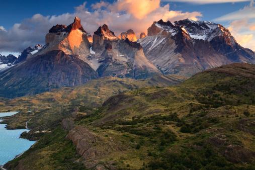 Pampas「Los Cuernos and Monte Almirante Nieto」:スマホ壁紙(0)