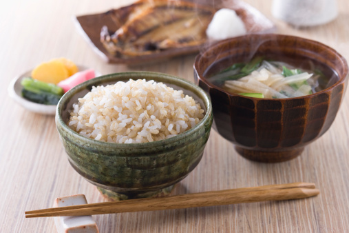 Brown Rice「Steamed Brown Rice with Side Dishes」:スマホ壁紙(12)