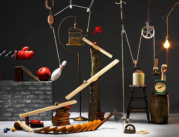 Rube Goldberg Machine:スマホ壁紙(壁紙.com)