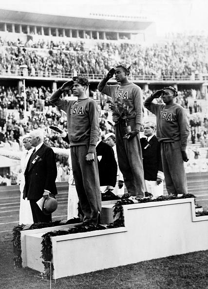 オリンピック「Siegerehrung im Hochsprung...」:写真・画像(16)[壁紙.com]