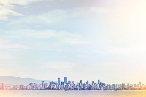 Urban Sprawl「Vancouver City from a distance」:スマホ壁紙(7)