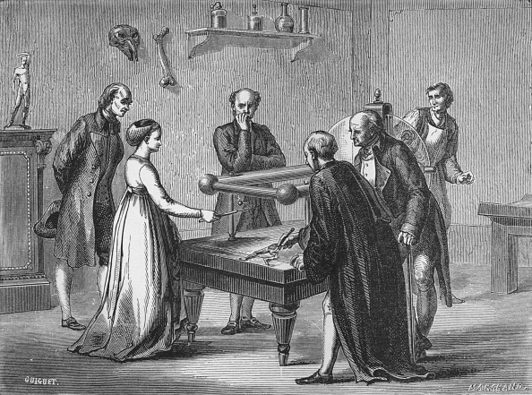Biology「Galvani's discovery, 1780 (1894)」:写真・画像(3)[壁紙.com]