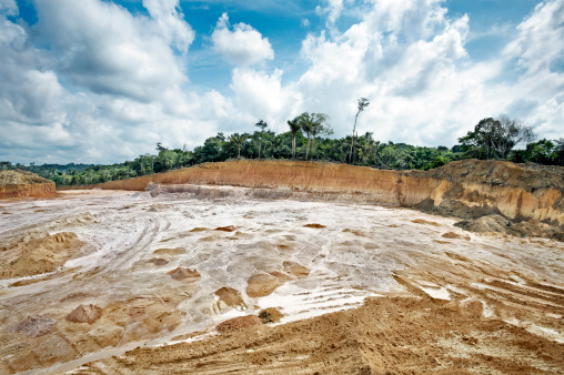 Deforestation「Forest cleared to built apartments, Manaus」:スマホ壁紙(0)