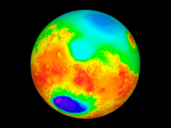 Manufactured Object「Nasa Topographic Maps Of Mars Released May 27 1999 The Maps Which Show High Altitudes As Red Yel」:写真・画像(6)[壁紙.com]