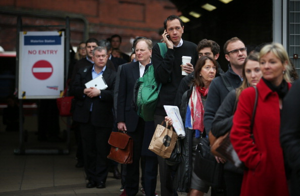 Waiting「London Underground 48-hour Tube Strike Affects Rush Hour」:写真・画像(9)[壁紙.com]