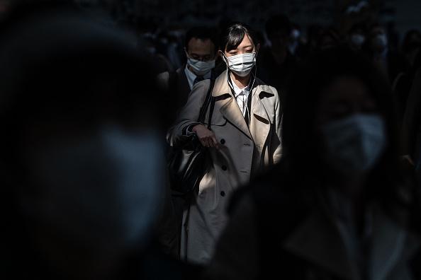 Tokyo - Japan「Japan Imposes State Of Emergency To Contain Coronavirus Outbreak」:写真・画像(8)[壁紙.com]