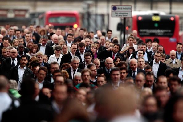 英国 ロンドン「The London Underground Grinds To A Halt As RMT Workers Hold A 24 Hour Strike」:写真・画像(9)[壁紙.com]