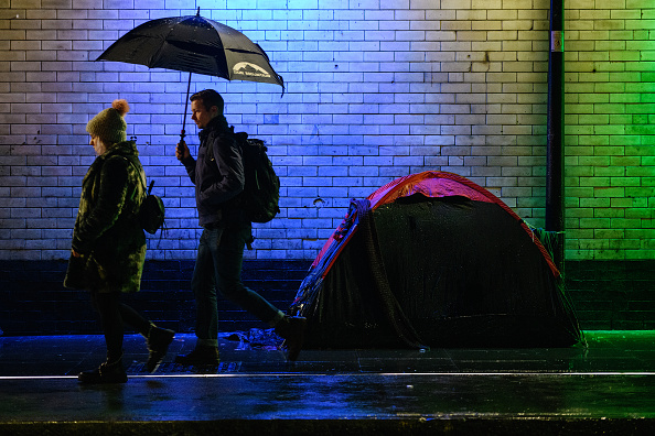 Homelessness「Winter Snow Blankets The South Of England」:写真・画像(0)[壁紙.com]